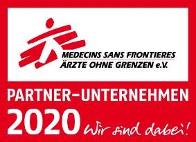 Ärtzte ohne Grenzen Logo