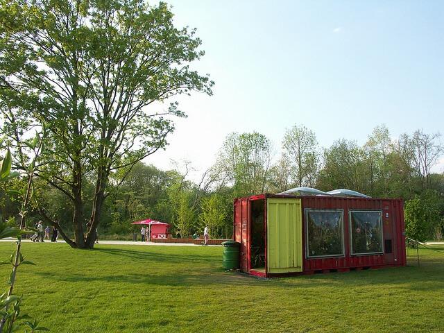 Container-Ausstellung