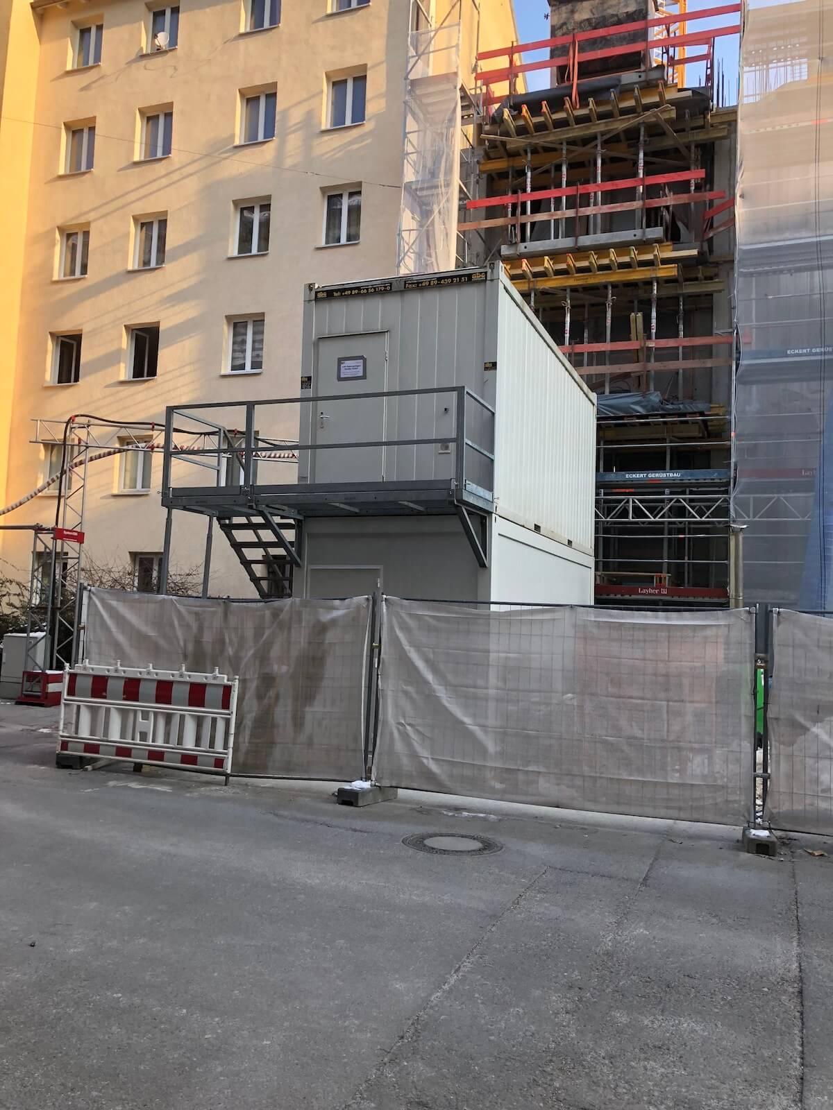 Baucontainer München