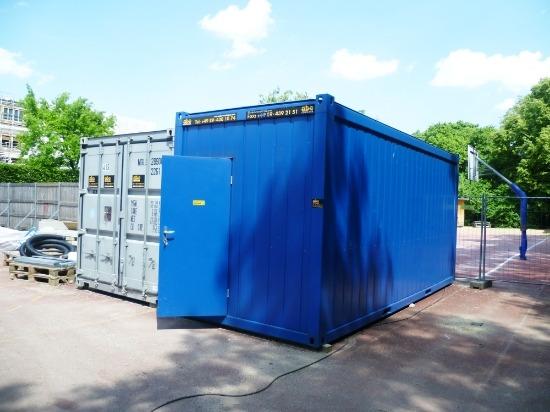 Container Blau München